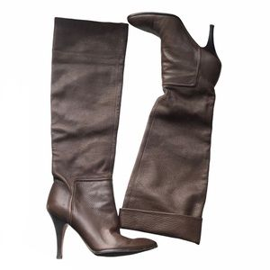 Vince Camuto Leather Over the Knee Boots